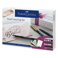 Hand lettering set Faber-Castell 12 stuks
