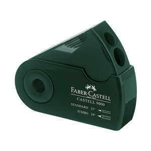 Faber Castell Faber Castell Puntenslijper Sleeve groen