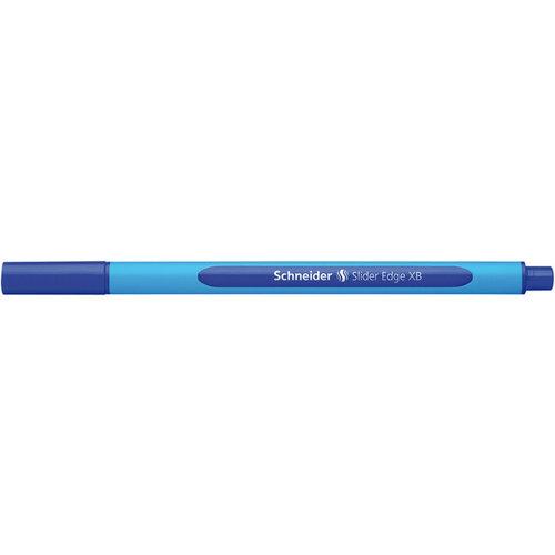 Balpen Schneider Slider Edge XB 1,4mm blauw