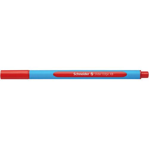 Balpen Schneider Slider Edge XB 1,4mm rood