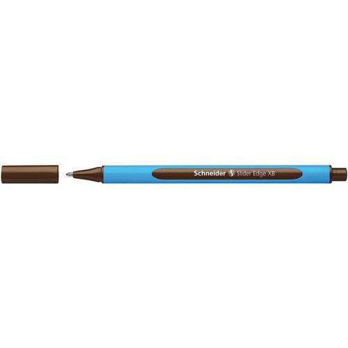 Balpen Schneider Slider Edge XB 1,4mm bruin