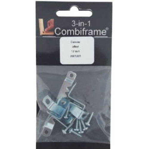 Combiframe Combiframe Spielatklem 17 mm voor 265-365 serie (bak)lijst