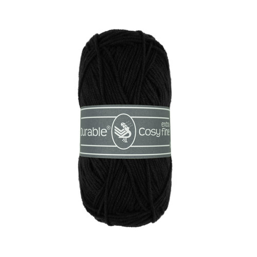 Durable Durable Cosy extra fine Black 325