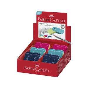 Faber Castell gum Faber-Castell Sleeve assorti kleuren