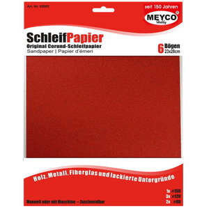 Meyco Schuurpapier assortiment 23 x 28 cm