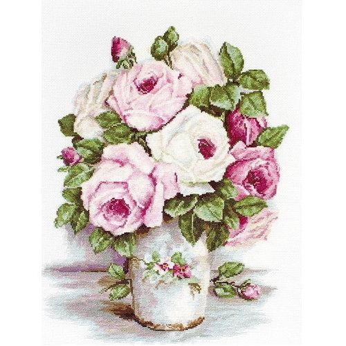 Luca S Luca S borduurpakket Mixed Flowers BA2329