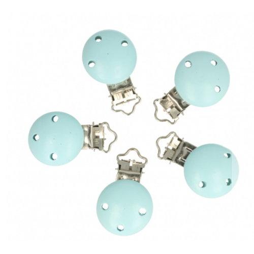 Opry Opry houten speenklem baby blauw