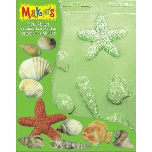 Makins Clay Push molds schelpen 17,5 x 14 cm
