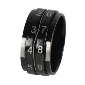 Knitpro KnitPro toerenteller ring maat 11 zwart