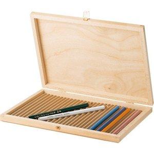 Ami Houten potlodendoos voor 28 potloden