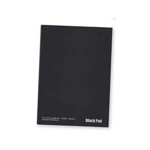 Ami Zwart tekenpapier A4 300 gram kop gelijmd 20 vellen