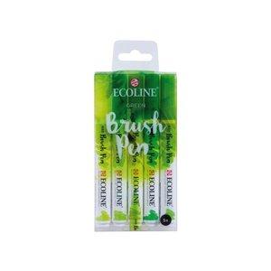 Ecoline Ecoline Brushpen Set 5 Groen