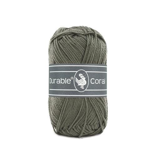 Durable Durable Coral Katoen 50 gram Slate 389
