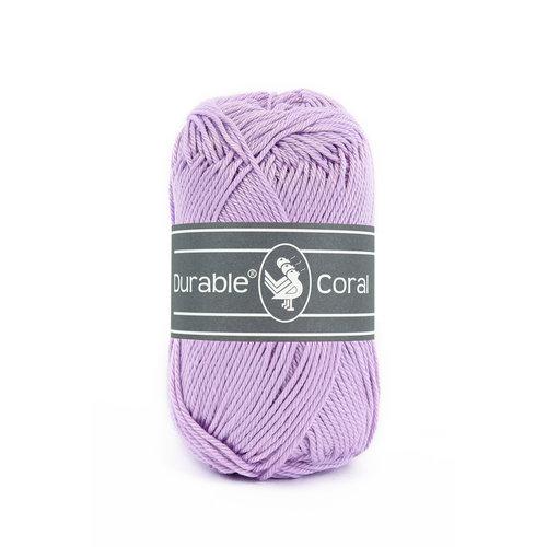 Durable Durable Coral Katoen 50 gram Lavender 396