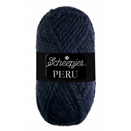 Scheepjeswol Scheepjes Peru 100 gram  090 Blauw