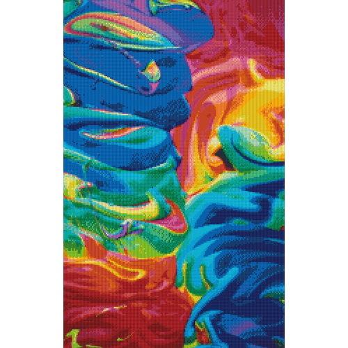PixelHobby Pixelhobby Patroon 5601 Colours of Paint