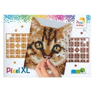 PixelHobby Pixelhobby XL Geschenkset 4 platen Kitten 28021