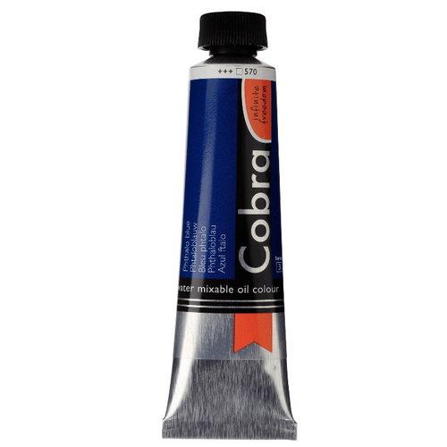 Cobra Cobra Artist Water Vermengbare Olieverf 40 ml Phtaloblauw 570