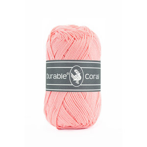 Durable Durable Coral Katoen 50 gram Rosa 386