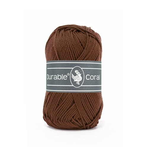 Durable Durable Coral Katoen 50 gram Coffee 385