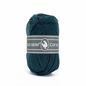 Durable Durable Coral Katoen 50 gram Petrol 375