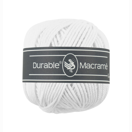 Durable Durable Macrame 100 gram White 310