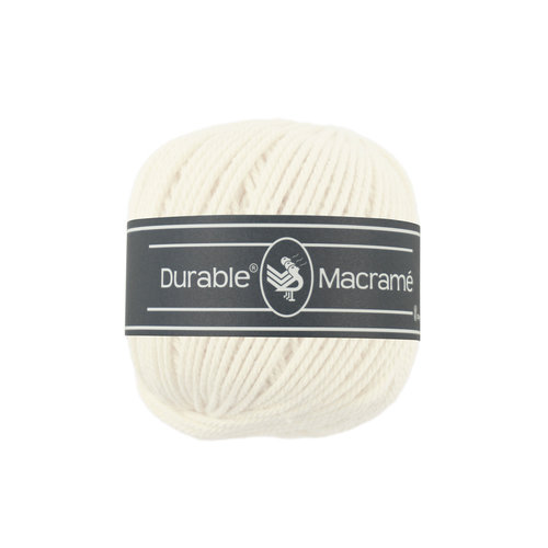 Durable Durable Macrame 100 gram Ivory 326