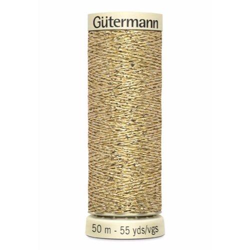 Gutermann Gutermann Metallic Garen Goud 50 meter 024