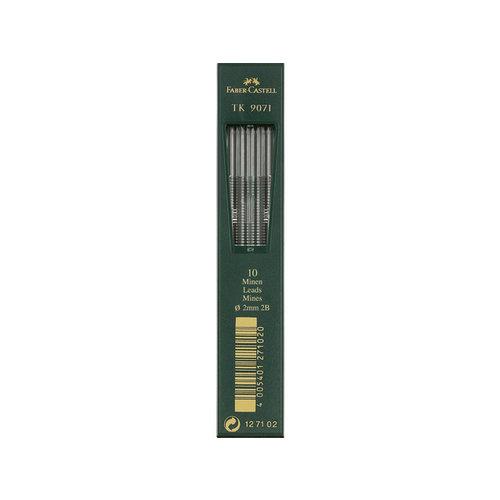 Faber Castell potloodstiftjes Faber Castell TK9071 2,0mm 2B