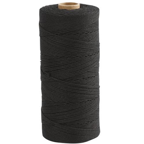 Creotime Zwart Katoenkoord 1 mm 315 meter 220 gram