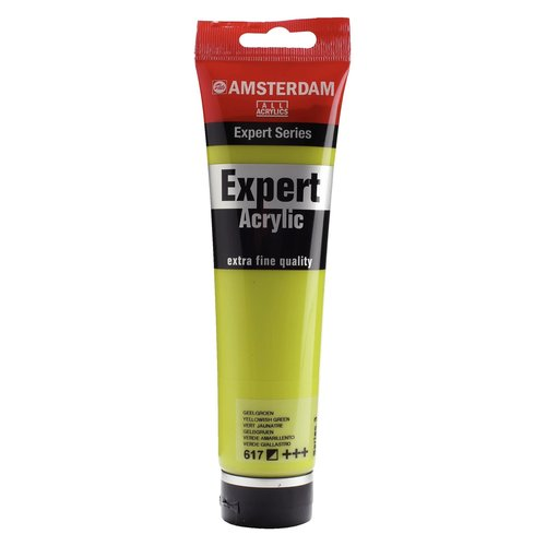 Amsterdam Amsterdam Acrylverf Expert Tube 150 ml Geelgroen 617
