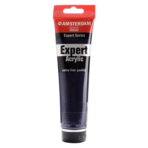 Amsterdam Amsterdam Acrylverf Expert 150 ml Permanentblauwviolet 568