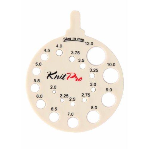 Knitpro KnitPro Breinaaldenmeter rond