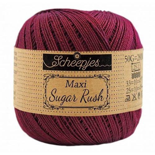 Scheepjeswol Scheepjes Maxi Sugar Rush 50 gram Bordeau 750
