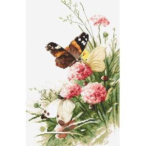 Luca S Borduurpakket Vlinders tussen de bloemen 938