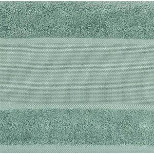 Rico Design Rico Design Handdoek Zeegroen 50 x 100 cm met aidaband