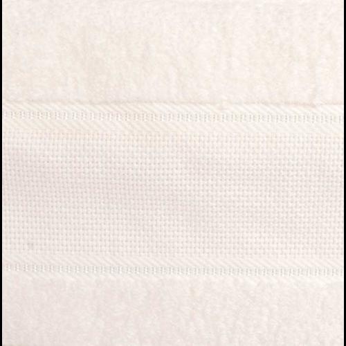 Rico Design Rico Design Handdoek Ecru 50 x 100 cm met aidaband