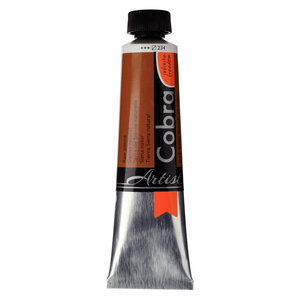 Cobra Cobra Artist Water Vermengbare Olieverf Tube 40 ml Sienna Naturel 234