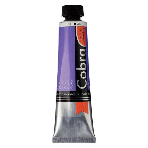 Cobra Cobra Artist Water Vermengbare Olieverf Tube 40 ml Violet 536