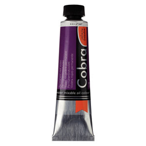 Cobra Cobra Artist Water Vermengbare Olieverf Tube 40 ml Permanentroodviolet 567