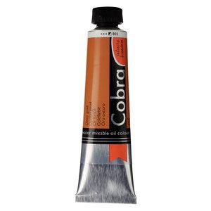 Cobra Cobra Artist Water Vermengbare Olieverf Tube 40 ml Donkergoud 803
