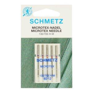 Schmetz Schmetz Microtex 5 naalden 80-12