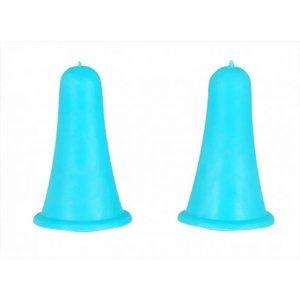 Knitpro KnitPro Puntenbeschermers klein blauw voor 2.0 - 5.0