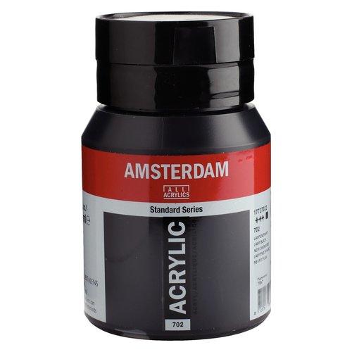 Amsterdam Talens Amsterdam acrylverf 500 ml Lampenzwart 702