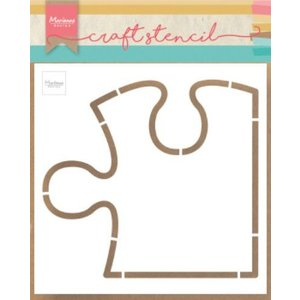 Marianne Design Marianne D Craft stencil Puzzel PS8052 148.5x148.5 mm