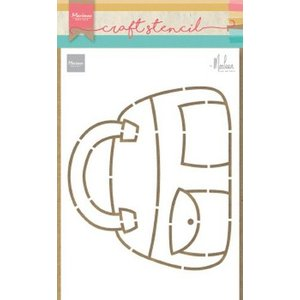 Marianne Design Marianne Design Craft Stencil Tas by Marleen PS8056 149x149mm (03-20)