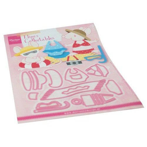 Marianne Design Marianne Design Collectable Eline's Beach Outfits COL1483 150 x 210 mm (06-20)
