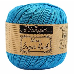 Scheepjeswol Scheepjes Maxi Sugar Rush 50 gram 146 vivid bleu