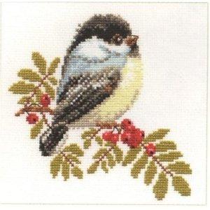 Alisa Alisa borduurpakket Chickadee al-01-012