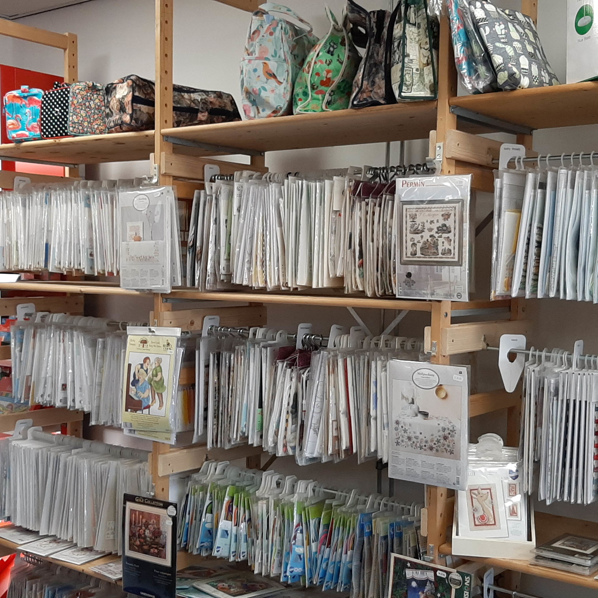 Binnenkant Hobbywinkel Drenthe